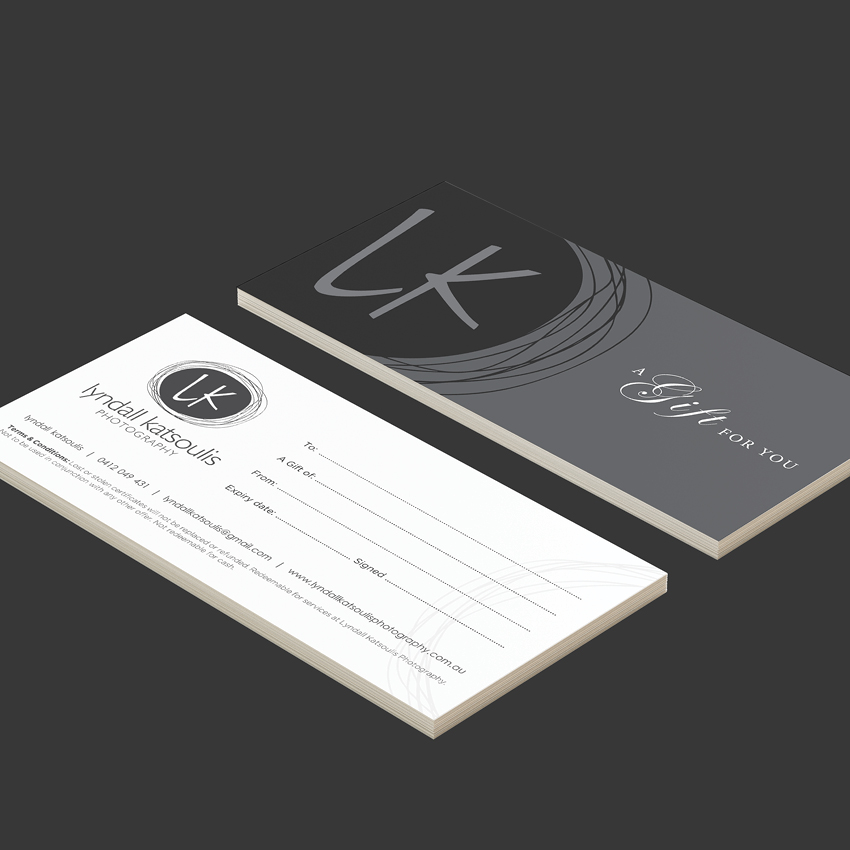 LK PHOTOGRAPHY DL Gift Vouchers