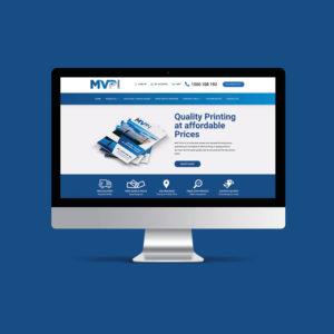 MVP Print Responsive Website