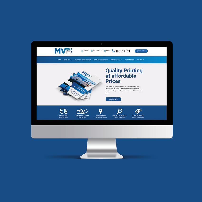 MVP PRINT Website Designed by NV ART