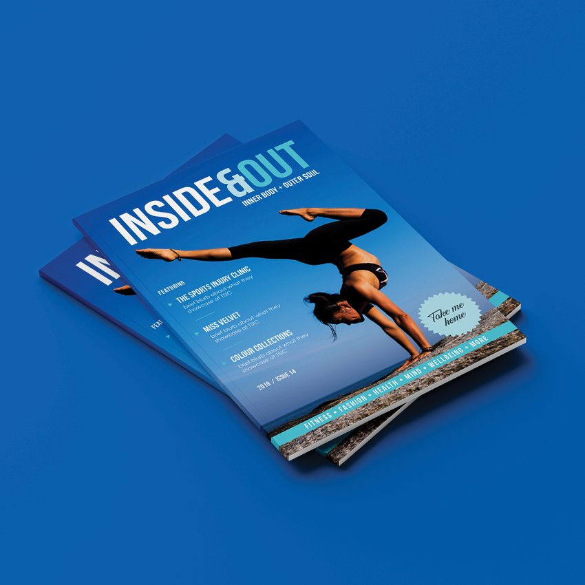 The Sports Injury Clinic Magazine Design